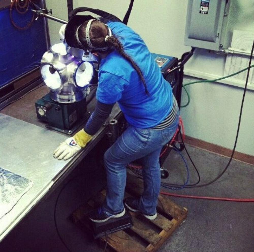 Still Building America: Trisha Falconē rebuilds her life through welding